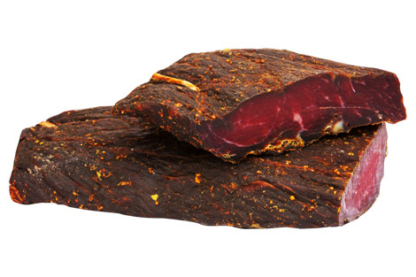 Product beef smoked meat Santorini